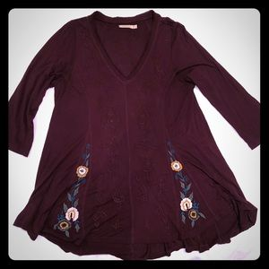 Caite Embroidered Top